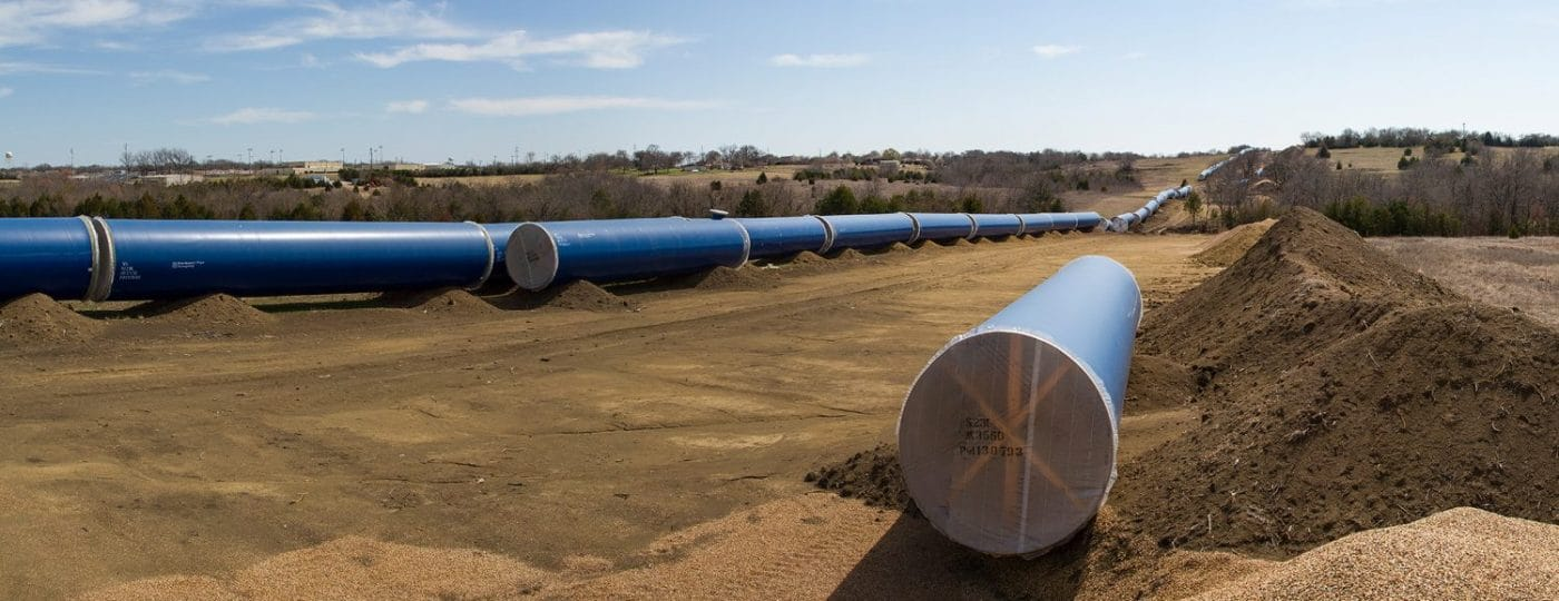 Texoma to Wylie Pipeline Construction