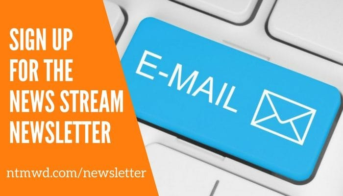 NTMWD News Stream Newsletter