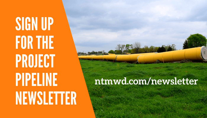 NTMWD Project Pipeline Newsletter