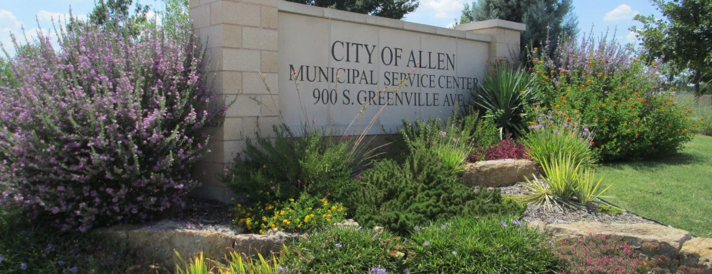 City of Allen | native landscaping | #PledgeToPlantSmart