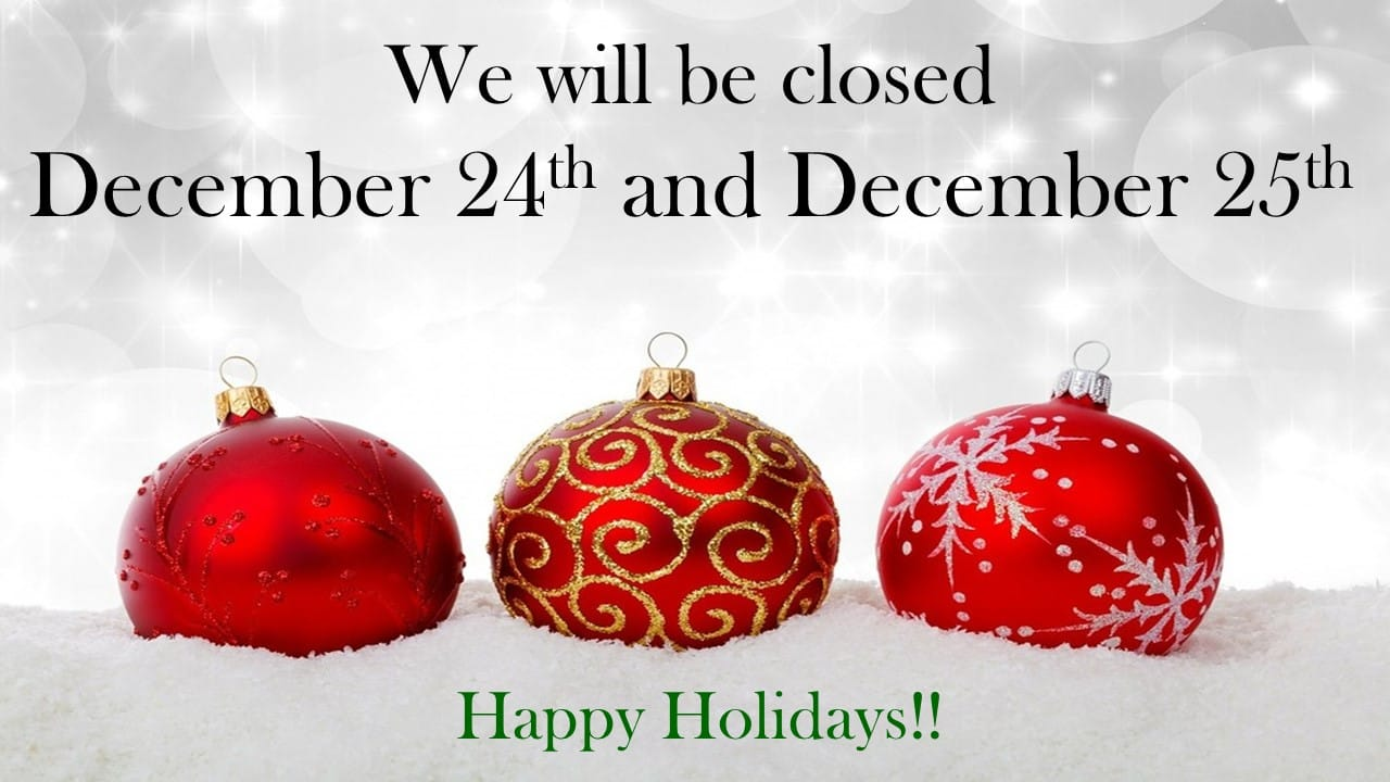 NTMWD Offices Closed for the Holidays - North Texas Municipal Water District