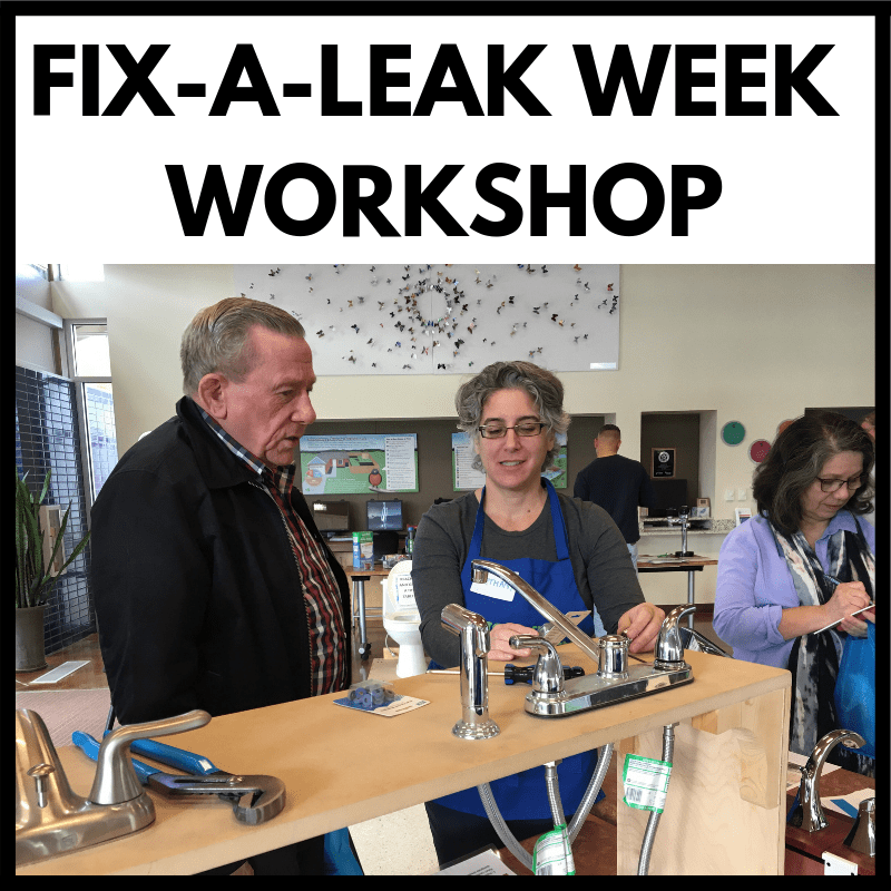 Learn to Fix a Leak for Free (Plano) - North Texas Municipal Water District