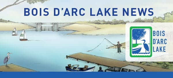 Subscribe to the Monthly Bois d'Arc Lake Newsletter - North Texas