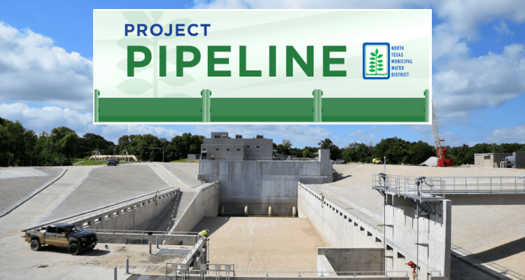 Project Pipeline - July 2019 - North Texas Municipal Water